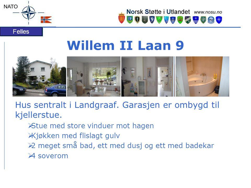 Felles Willem II Laan 9 Hus sentralt i Landgraaf.Garasjen er ombygd til kjellerstue.