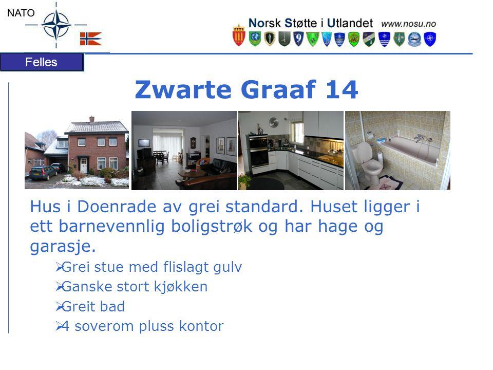 Felles Zwarte Graaf 14 Hus i Doenrade av grei standard.