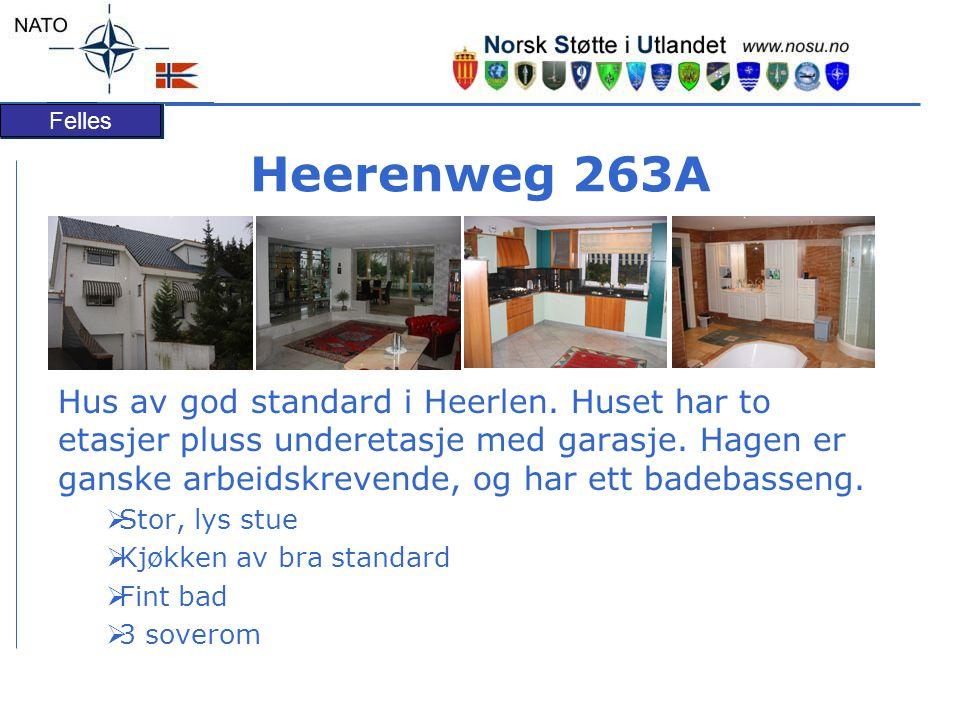 Felles Heerenweg 263A Hus av god standard i Heerlen.