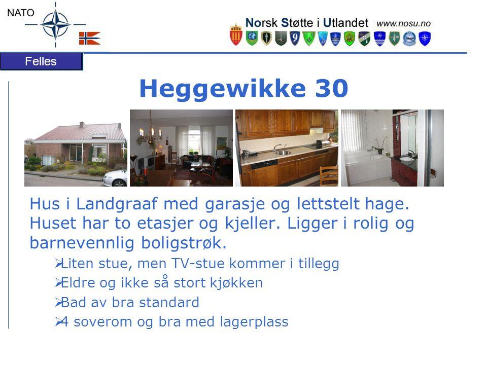 Felles Heggewikke 30 Hus i Landgraaf med garasje og lettstelt hage.