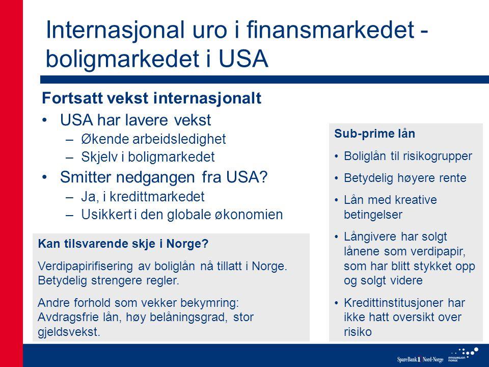 Tilbake til naturen •Produksjonsmål på 15 % i 2015 for økologisk mat •Store avstander i Nord- Norge er en utfordring •Markedet for økologiske produkter er i vekst: –Ett av to anlegg for økologisk laks ligger i Nord-Norge –Tine produserer økologisk lettmelk i Sandnessjøen PRIMÆRNÆRINGENE
