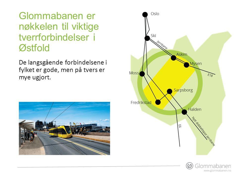 Glommabanen er nøkkelen til viktige tverrforbindelser i Østfold De langsgående forbindelsene i fylket er gode, men på tvers er mye ugjort.