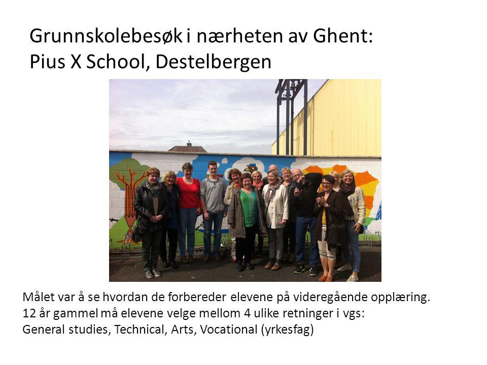 Sint-Franciscusinstituut: Katolsk videregående skole i Melle ved Ghent • Ca.