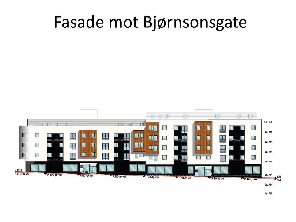 Fasade mot Bjørnsonsgate