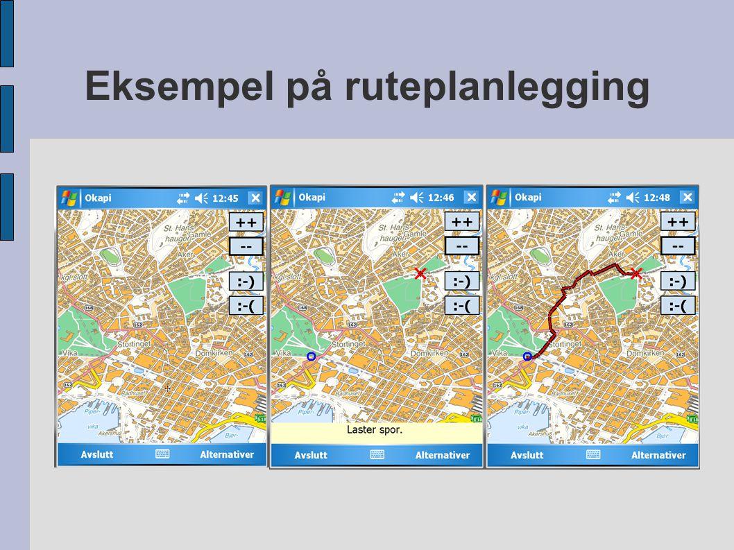 Eksempel på ruteplanlegging hgj