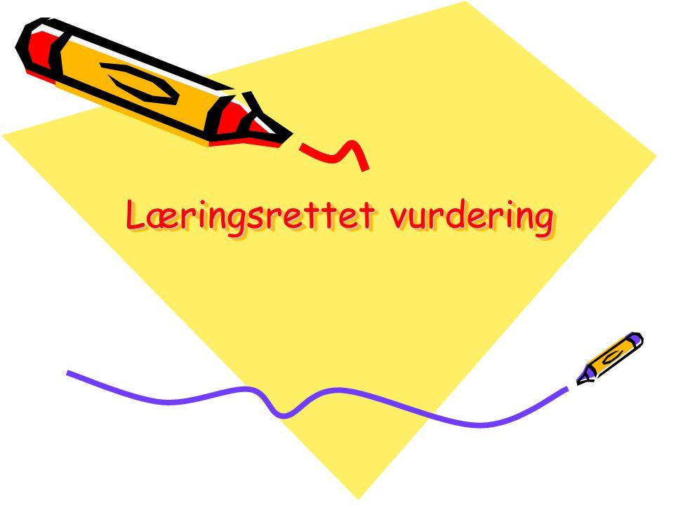 Læringsrettet vurdering