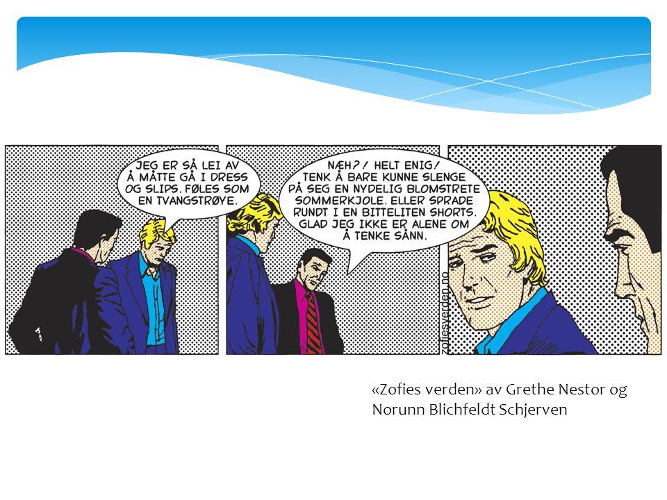 «Zofies verden» av Grethe Nestor og Norunn Blichfeldt Schjerven