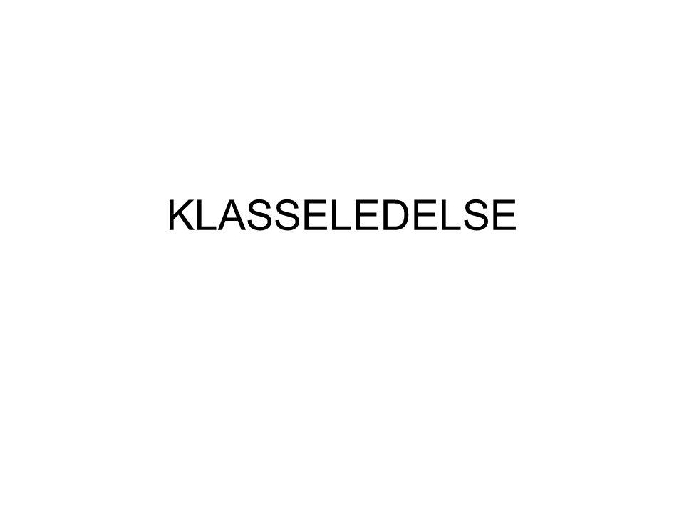 Kristin Østvik, PPT-Ofoten KLASSELEDELSE Nøkkelord: •Emosjonell støtte, organisering, læringsstøtte •Sosialt fundament (trygghet, struktur, gode arbeidsvilkår, respekt og tillit) •Sosial innflytelse, tydelig voksen, ha aksept hos elevene