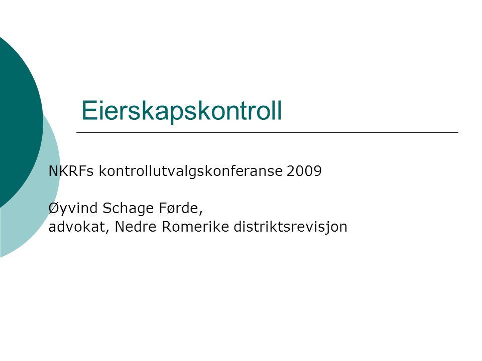 NKRF 5.februar 2009 Nedre Romerike distriktsrevisjon Hvordan utarbeide rapport.
