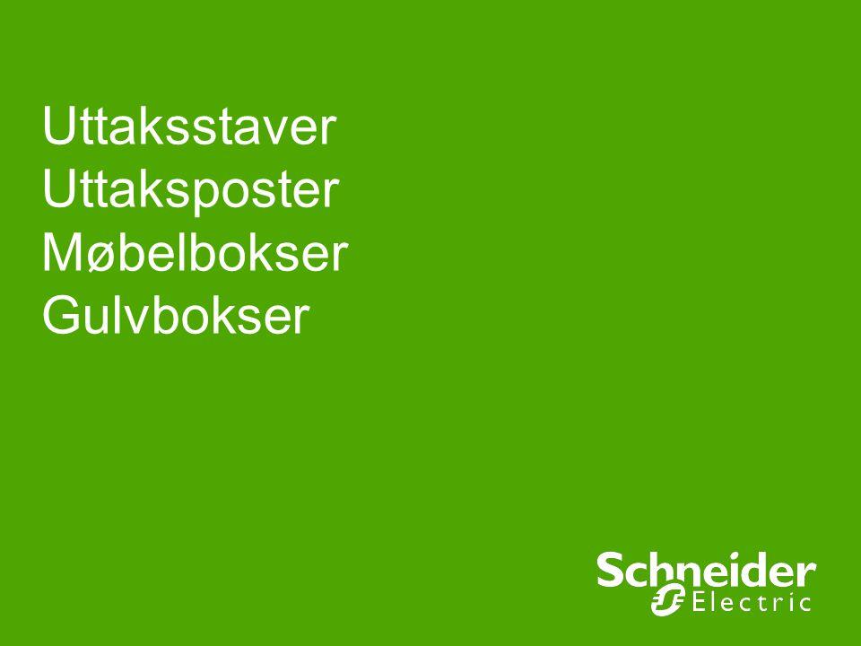 Uttaksstaver Uttaksposter Møbelbokser Gulvbokser