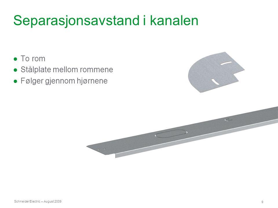Schneider Electric 20 – August 2009 Møbelbokser OptiLine-serien inneholder en rekke ulike løsninger for fleksibel kontorinnredning.
