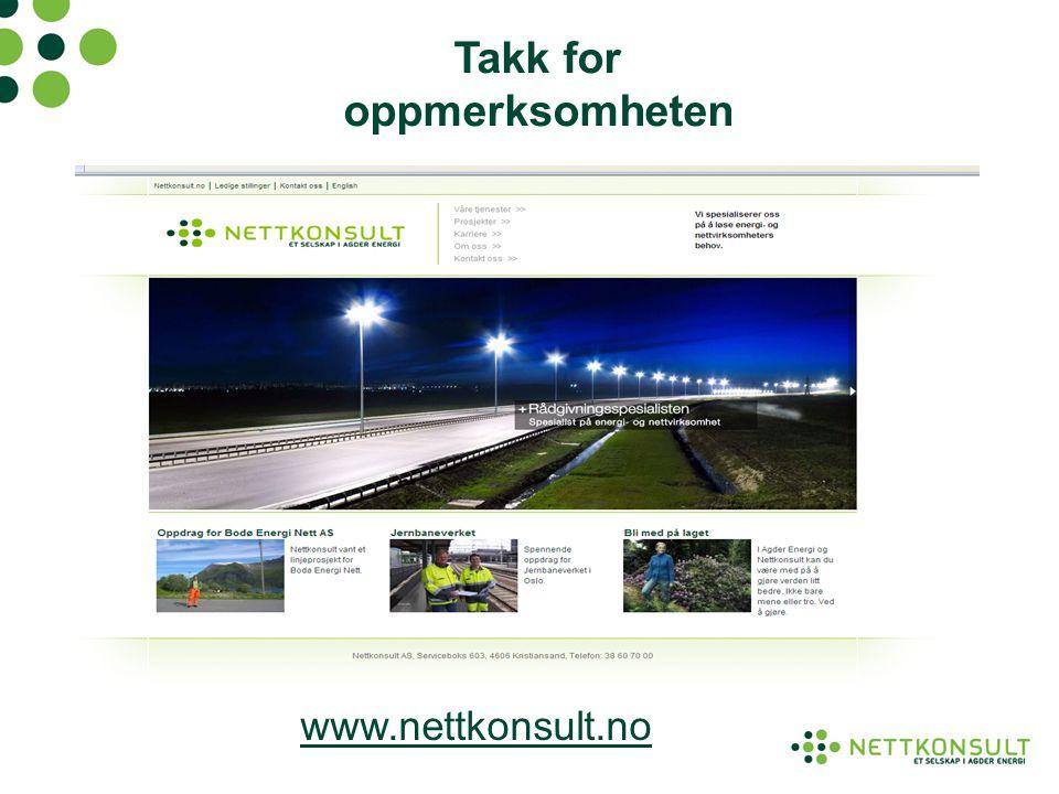 Takk for oppmerksomheten www.nettkonsult.no