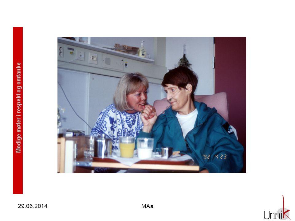 Modige møter i respekt og omtanke 29.06.2014MAa