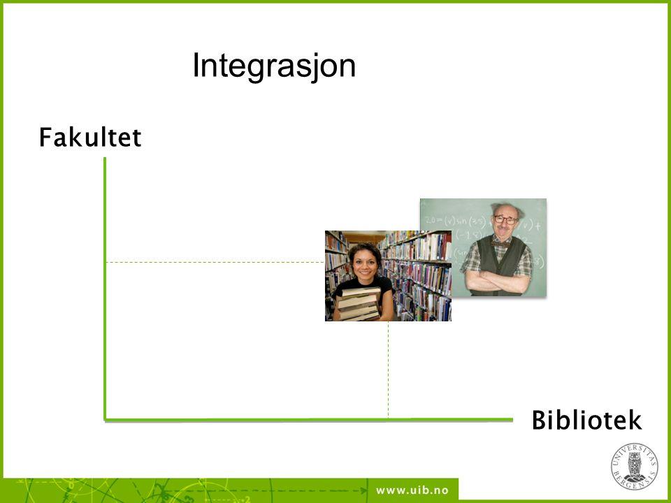 Fakultet Bibliotek Integrasjon