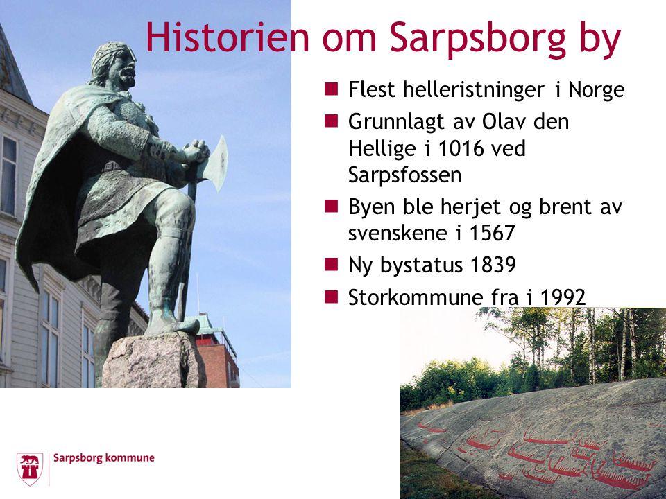  Flest helleristninger i Norge  Grunnlagt av Olav den Hellige i 1016 ved Sarpsfossen  Byen ble herjet og brent av svenskene i 1567  Ny bystatus 18