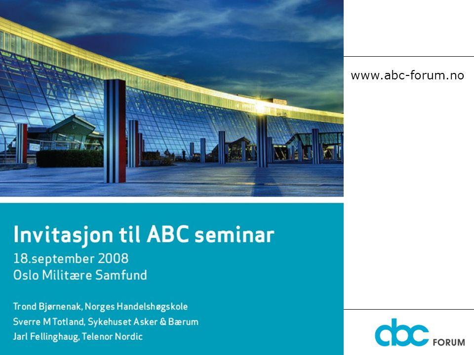 29. juni 2014 1 Diskusjonsforum www.abc-forum.no