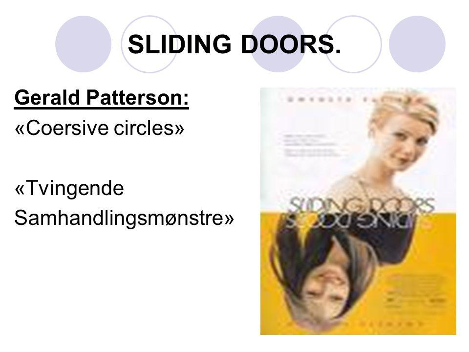 SLIDING DOORS. Gerald Patterson: «Coersive circles» «Tvingende Samhandlingsmønstre»