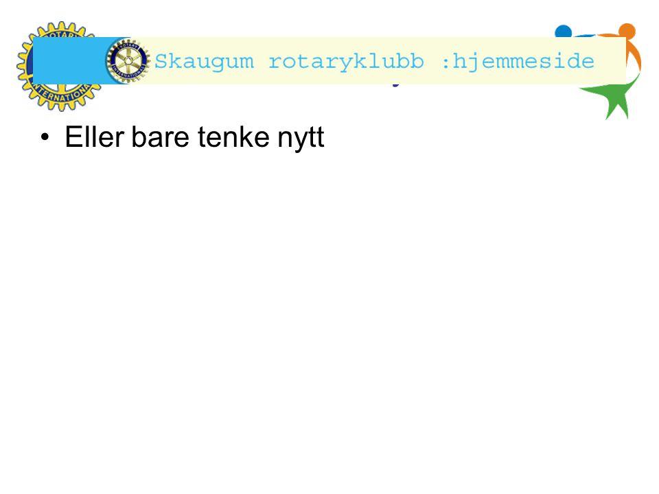 Hønefoss Rotary Klubb Rekruttering.Alle i klubben har et ansvar her.