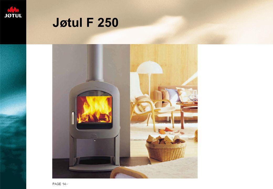 PAGE 14 - Jøtul F 250