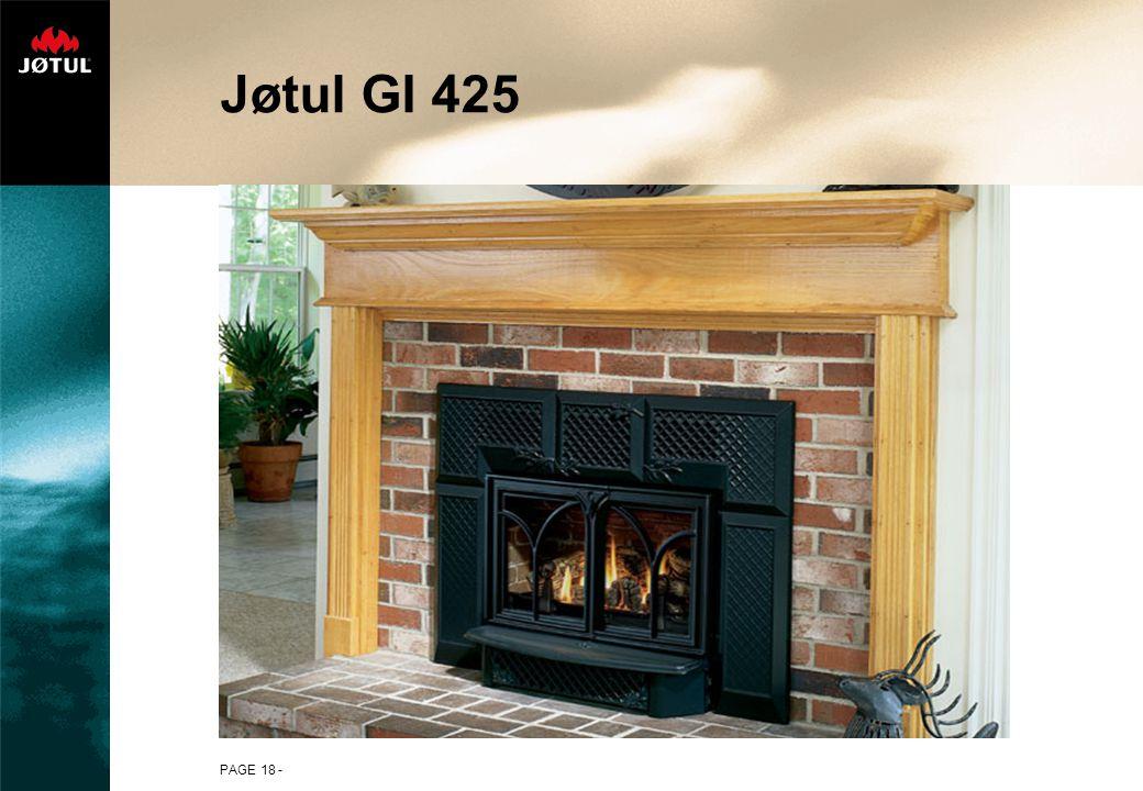 PAGE 18 - Jøtul GI 425