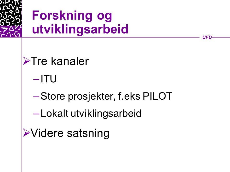 UFD Bredbånd - Hvorfor.