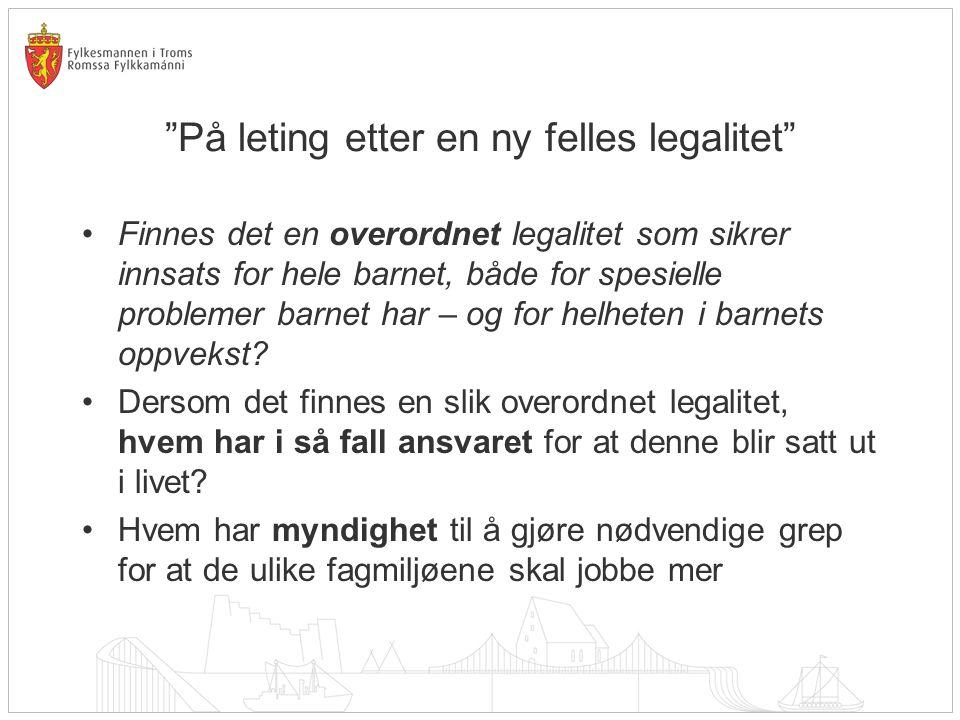 Ordfører Rådmann Fagfolk Barna selv Frivillige org. Foreldre Statlige myndigheter