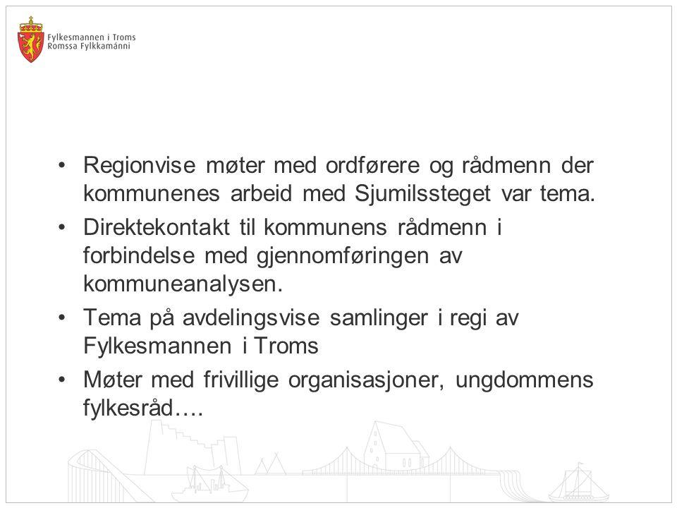 Sjumilsstegskonferansen •Målgruppe: •Kommunens politiske og administrative ledelse.
