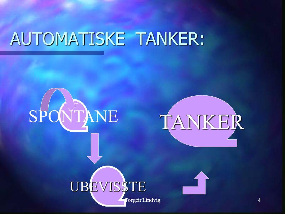 Torgeir Lindvig4 AUTOMATISKE TANKER: SPONTANE UBEVISSTE TANKER