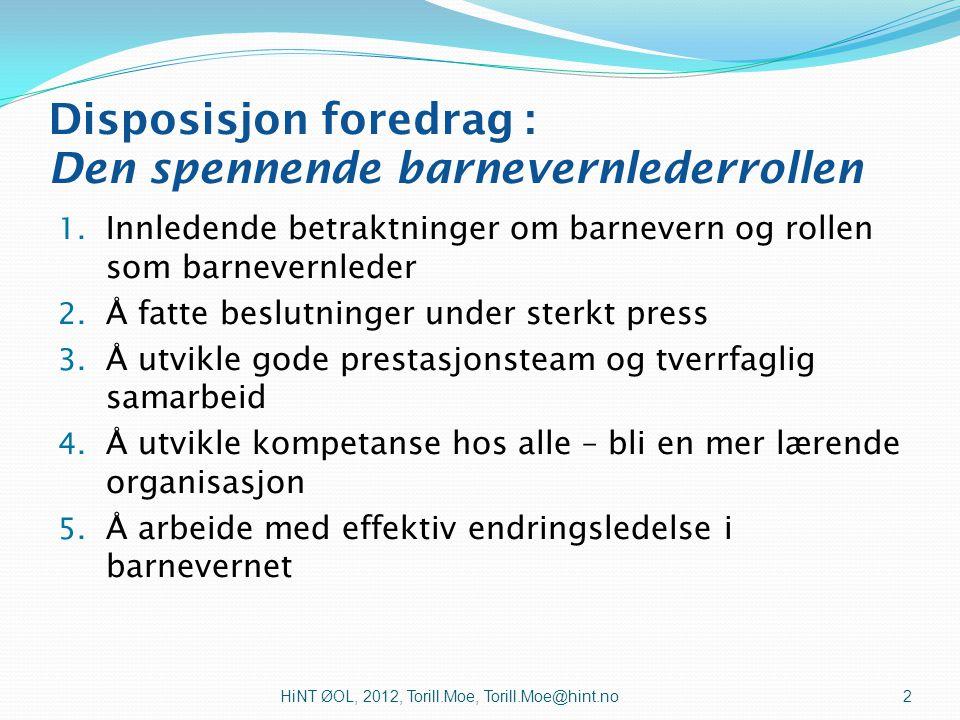 Landsforeningen for barnevernledere (NOBO) Gardermoen 25.