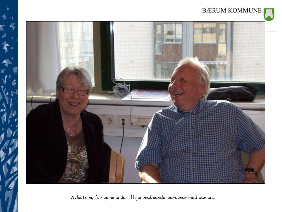 Avlastning for pårørende til hjemmeboende personer med demens