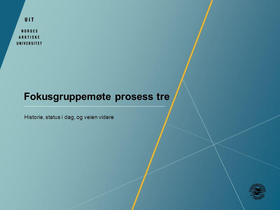 Delpross tre – kort oversikt •Datamateriale samlet inn fra 2011 •Prosessdager gjennomført mai 2012 •Nye skjema i bruk fra utgangen av 2012 •Tilbakemeldinger: –Administrative –Vitenskapelige