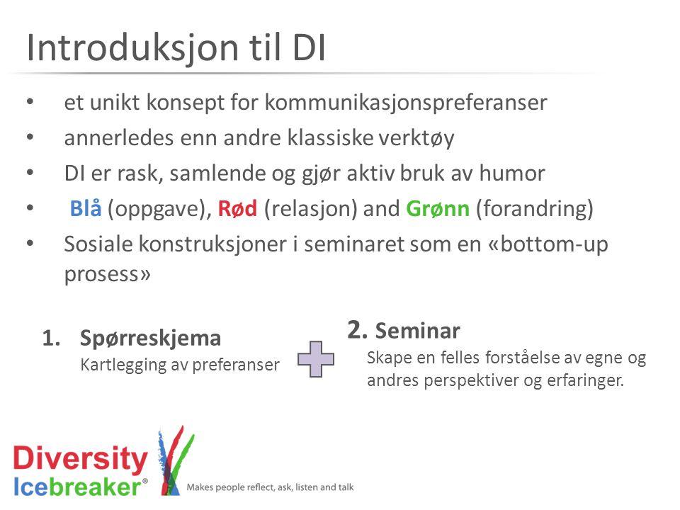 Eier av Diversity Icebreaker Human Factors AS Human Factors AS, Norway www.human-factors.no Diversity Icebreaker Network på LinkedIn Diversity Icebreaker – International på Facebook