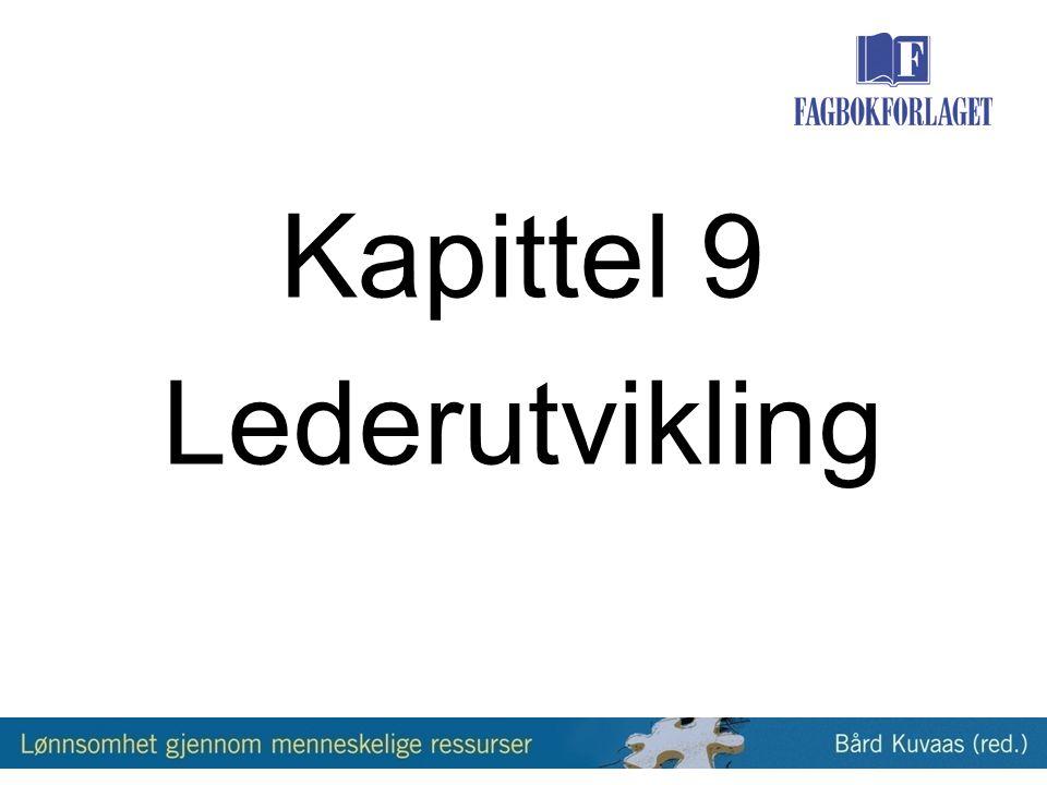 Kapittel 9 Lederutvikling