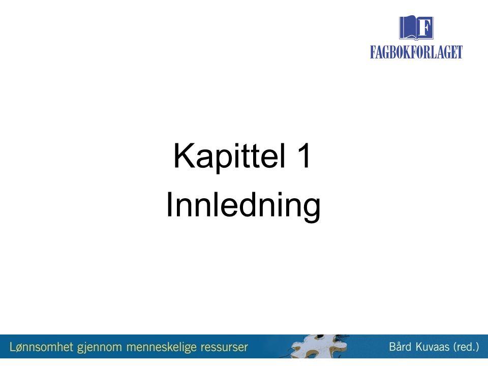 Tabell 4.1: Karakteristika ved ansattes jobbprestasjoner