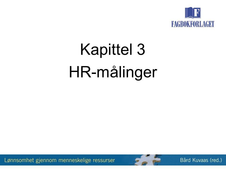 Kapittel 3 HR-målinger