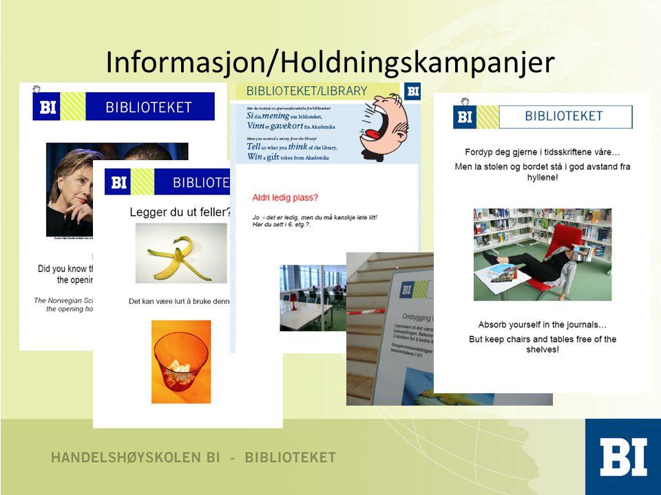 Informasjon/Holdningskampanjer