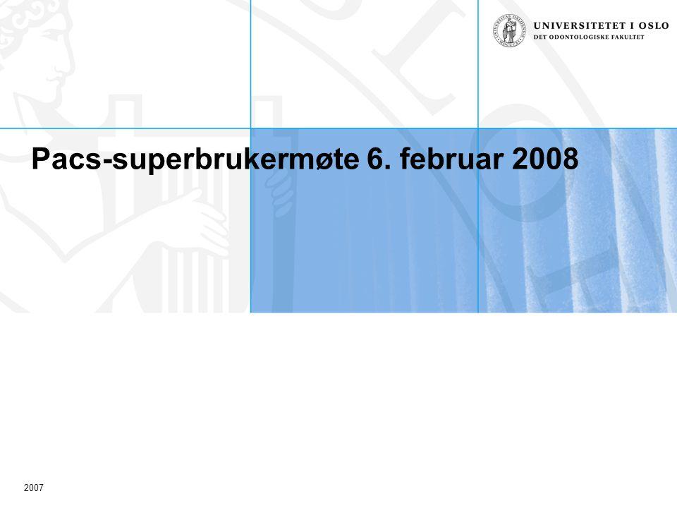 2007 Erfaringer siden driftstart 28.02.08 Takk for fabelaktig innsats, entusiasme og gode tilbakemeldinger.