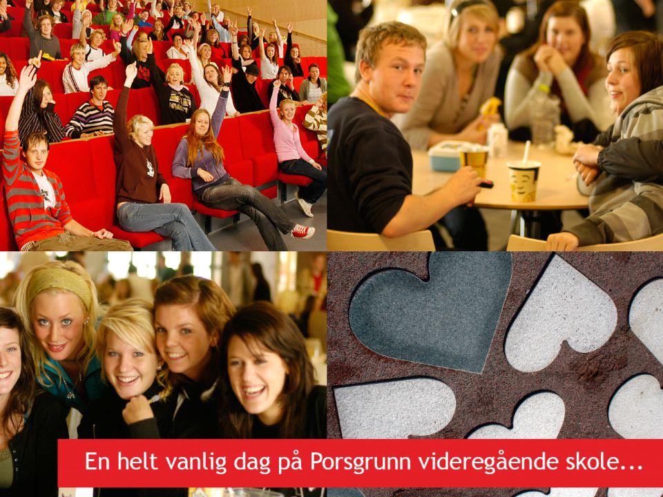 Slide 4 Porsgrunn videregående skole Elevrådsarbeid + LÆRINGSMILJØ og RESULTATER!