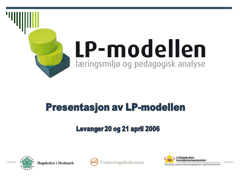 En forskningsbasert modell LP –modellen bygger på forskning om:  hva som kan forklare uro og disiplinproblemer i skolen  elevers sosial og skolefaglige ut bytte i skolen  hva som kjennetegner gode skoler  den gode klasselederen  lærings- og klassemiljø