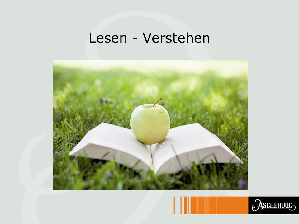 Lesen - Verstehen