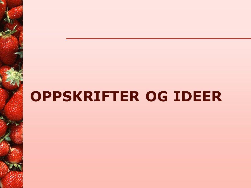 Nyttige nettadresser •www.hev.oslo.kommune.nowww.hev.oslo.kommune.no •www.dinkost.nowww.dinkost.no •www.shdir.nowww.shdir.no •www.naaf.nowww.naaf.no •