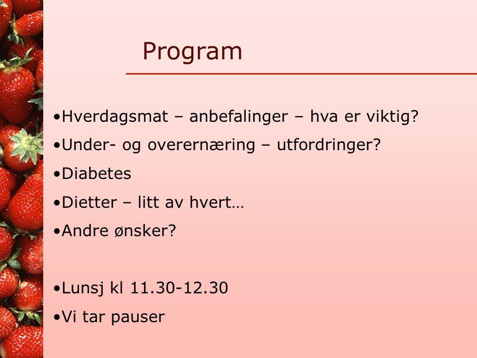 Ernæring og dietter Kost og ernæringsforbundet, Viken, 8. juni 2009 Klinisk ernæringsfysiolog Laila Dufseth