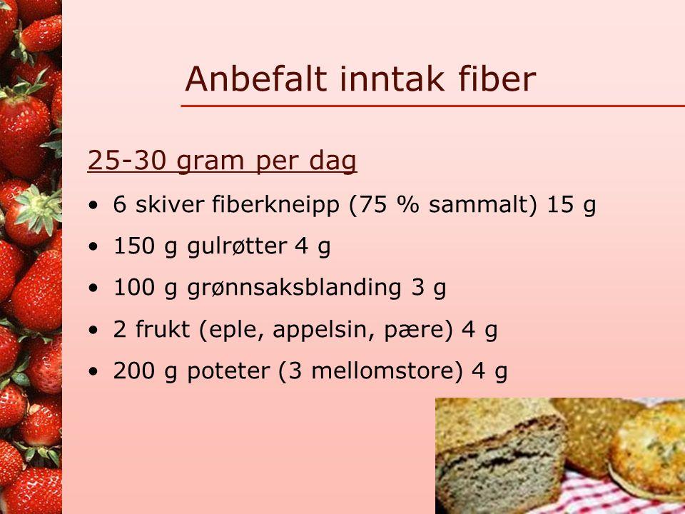 Grovhetsmerking av brød •Fint: 0-25% sammalt mel og hele korn •Mellomgrovt: 25-50% sammalt mel og hele korn •Grovt: 50-75% sammalt mel og hele korn •E