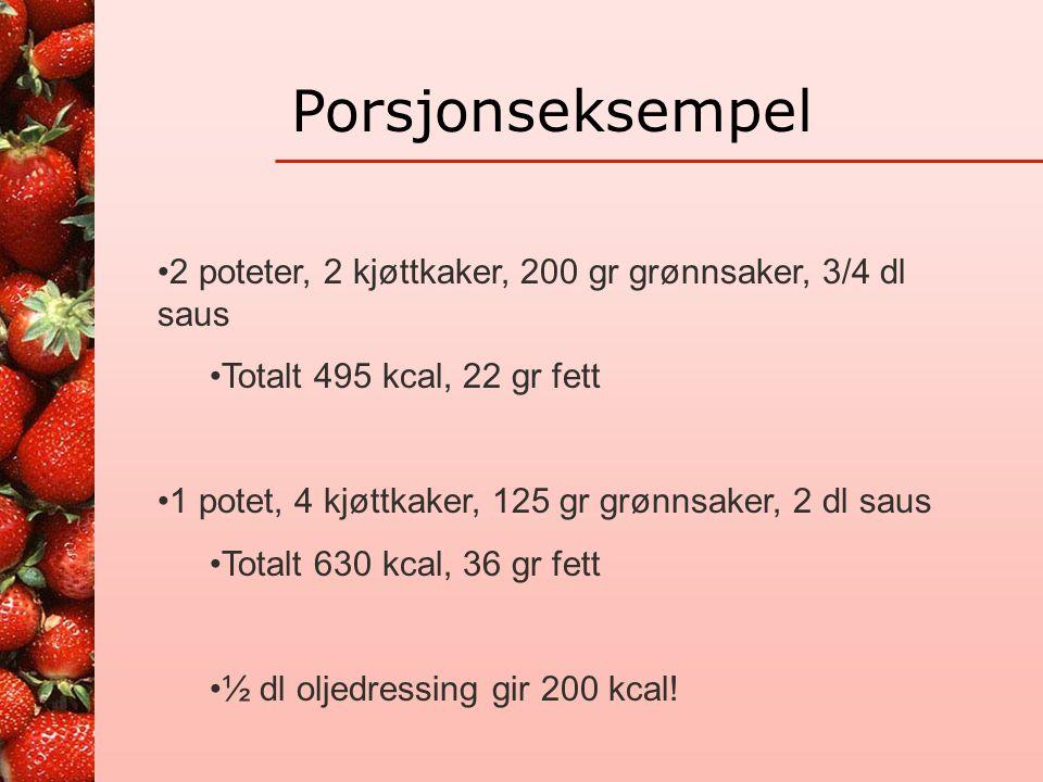 Overvekt-overernæring •Regelmessig måltidsmønster •Porsjonsstørrelse •Mager mat, god metthetsfølelse •Tallerkenmodellen til alle hovedmåltider •Beviss