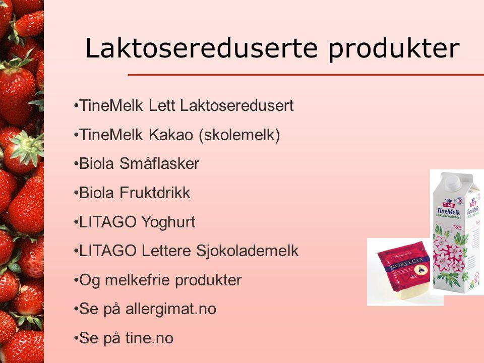 """Laktoseintoleranse Toleranse for mengde laktose er individuell For mye gir ubehag Det er mye laktose i """"melkemat"""": melk, rømme, fløte, yoghurt, is, pa"""