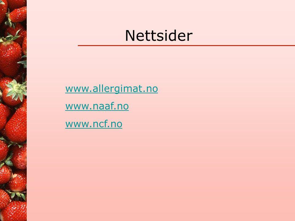 Melkeproteinallergi http://www.btinternet.com/~tofutti/system/index.html