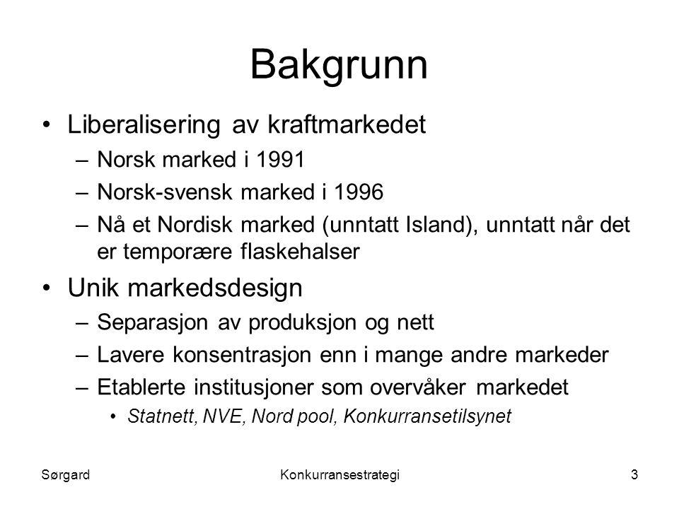 SørgardKonkurransestrategi4 Konkurranse eller ….