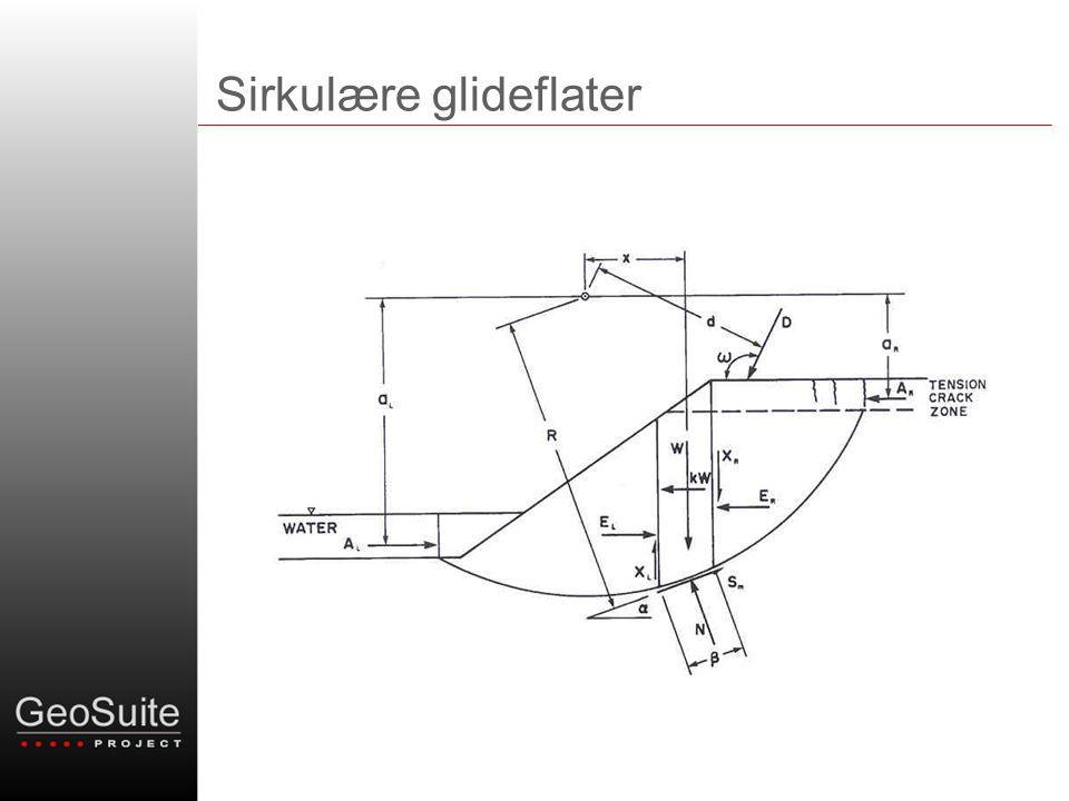Vilkårlige/plane glideflater