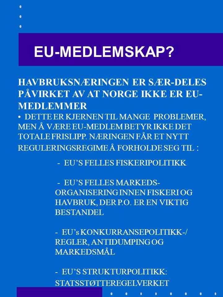 LITT OM EU - TILKNYTNING: 1.EU-MEDLEMSKAP. 4.