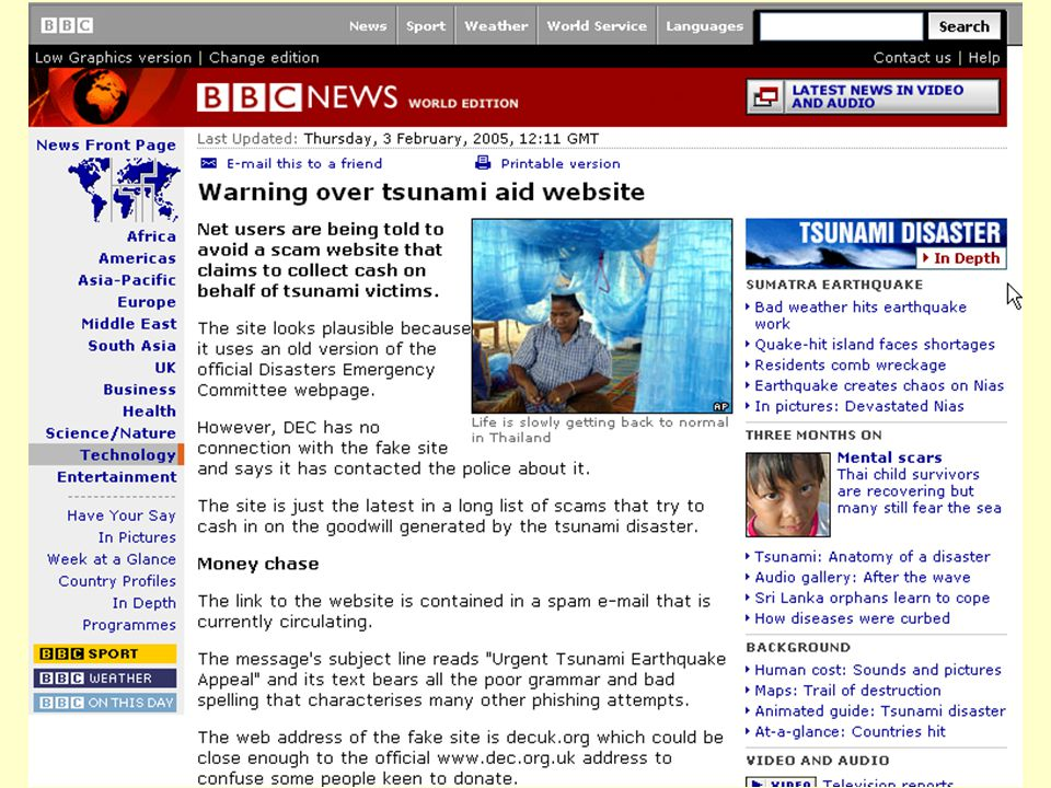 Even Flood: Informasjonssøking, Elverum 28/4/2005 16 Noen kriterier for å evaluere et nettsted •Betalte plasseringer – reklame.